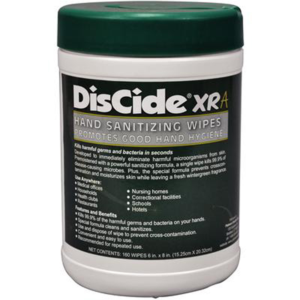 DisCide Hand Sanitizing Wipes