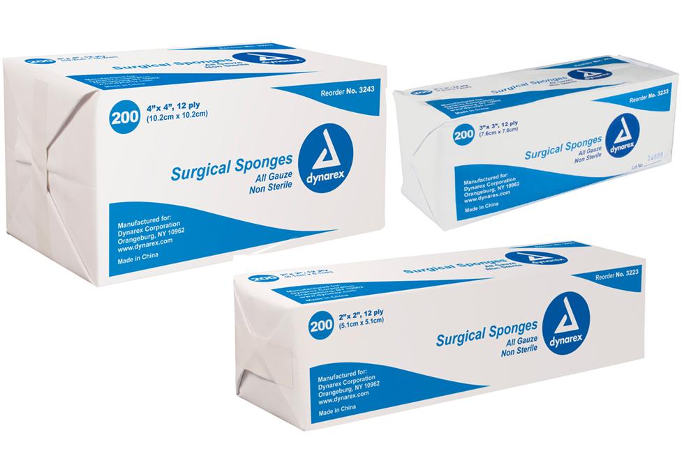 Non-Sterile Gauze Sponge - 200/bag