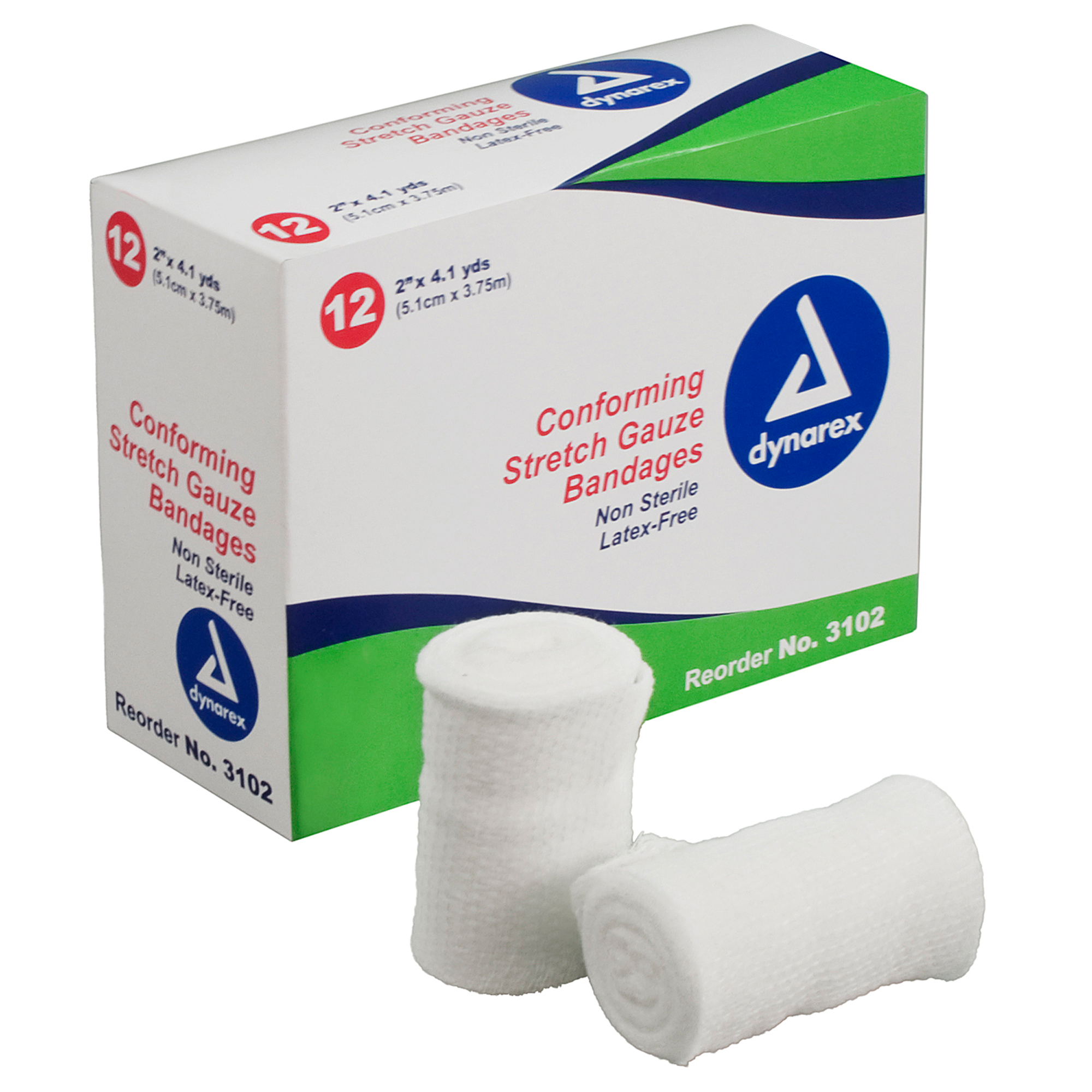 Non-Sterile Stretch Gauze - 5 yd/roll