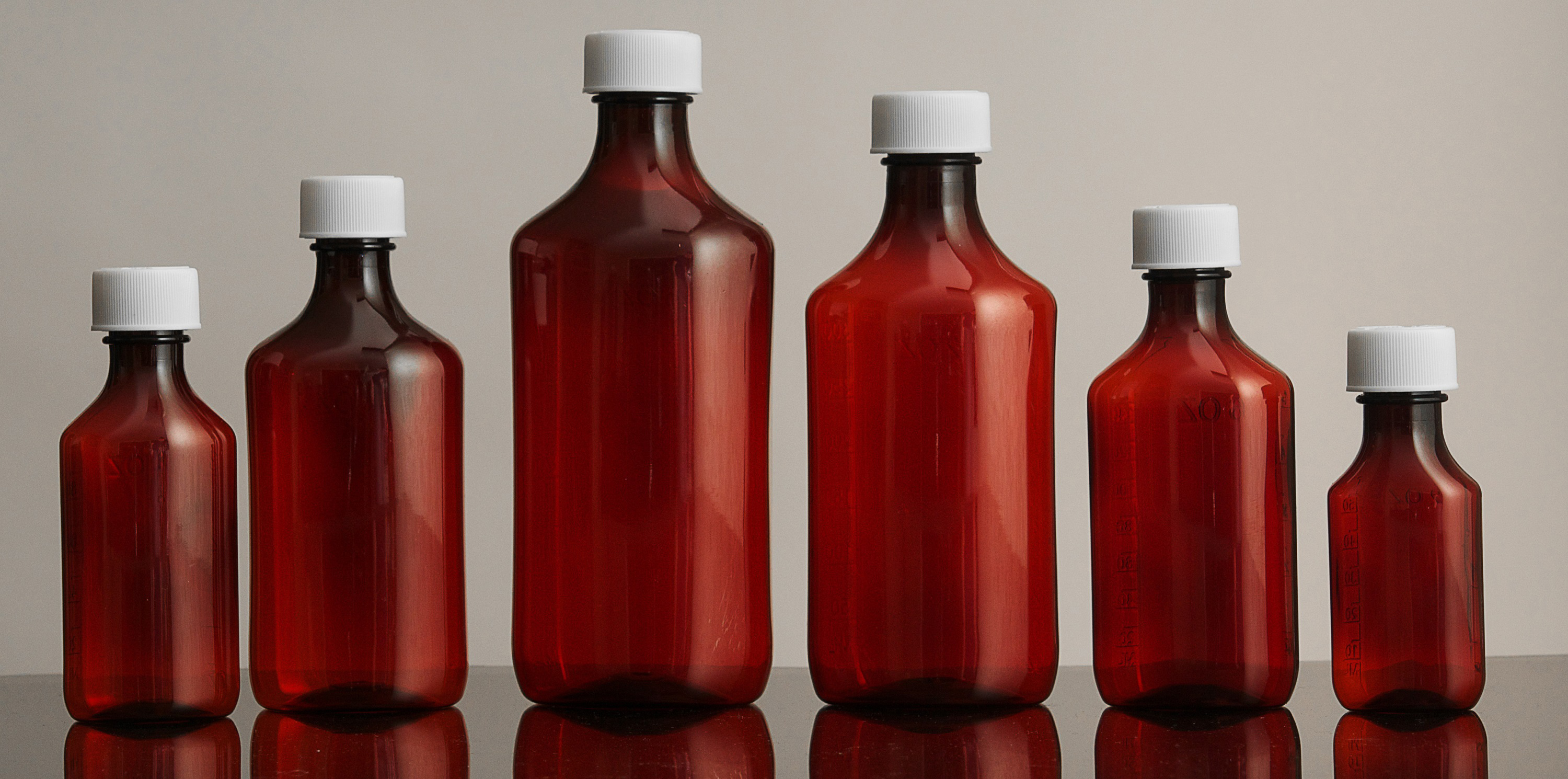 Plastic Prescription Bottles